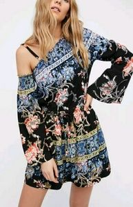 New Free People One Shoulder Dress